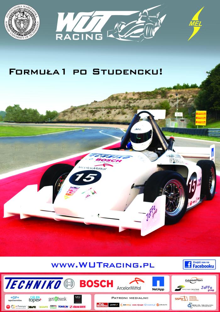 WUT Racing - Formuła 1 po studencku!