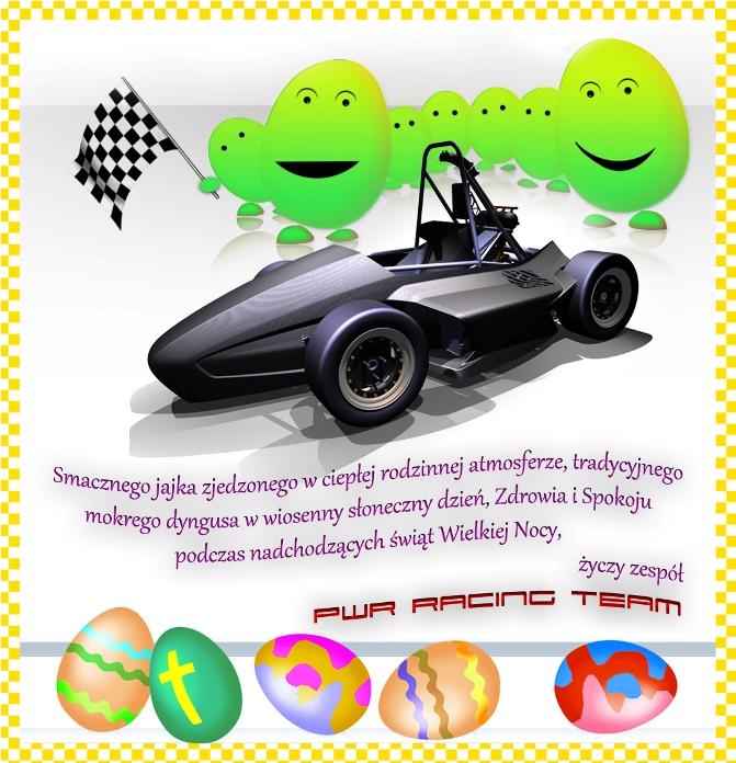 PWR Racing Team życzy Wesołych Świąt