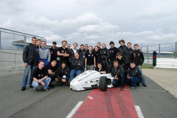PWR Racing Team powrócił z Wielkiej Brytanii i nie przestaje pracować nad bolidem. Cz.1