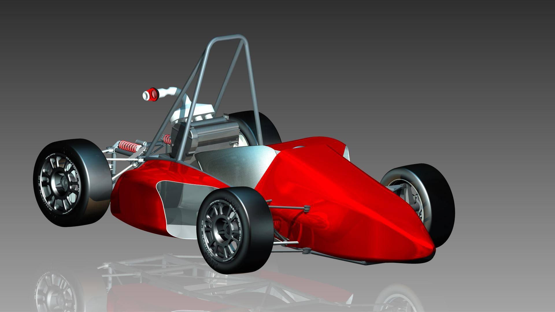 Wstępny projekt bolidu PGRacing Team gotowy!